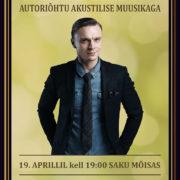 Eksklusiivne Tanel Padari soolokontsert 19.aprillil